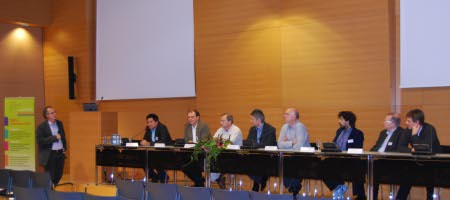 Panel in discussion
